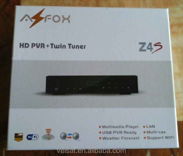 professional azfox z4s satellite receiver software upgrade