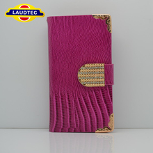 New Lizard Design Wallet Leather Case For MOTO G,High Quality Leather Case