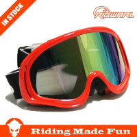 HC Hot Selling Outdoor Sports Protective Safety Anti Fog Lens Snow Goggles With OEM Service on Straps