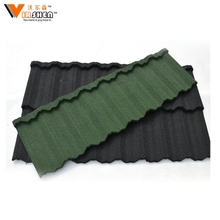 africa high quality colorful stone coated metal roof tile