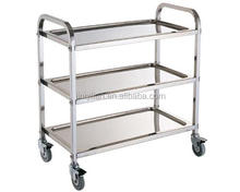 JQL-009 dining car Stainless Steel trolley hot sale trolly