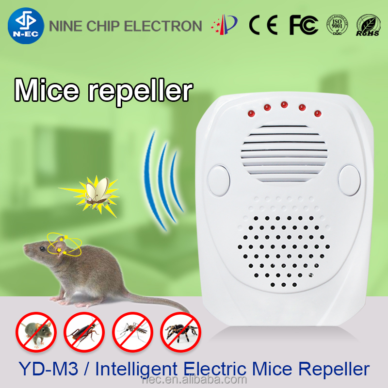 Mice Repeller Electronic, Driving Rodent ant Away device, electronic mice spider repeller
