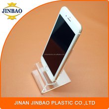 JINBAO phone store showing hot selling deluxe perspex mobile stand acrylic display