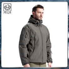 Tactial military outdoor cool softshell windbreaker mens jacket