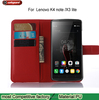 For lenovo k4 note x3 lite Magnetic Flip PU Leather Wallet Case with Photo Frame Card Holder Smart Stand 4G Mobile Phone Cover