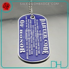 Custom Cheap Military Logo Bulk Metal Dog Tag