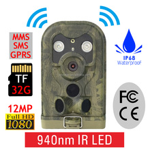 HD 12MP 940NM MMS GPRS Scouting Infrared Trail Hunting Camera