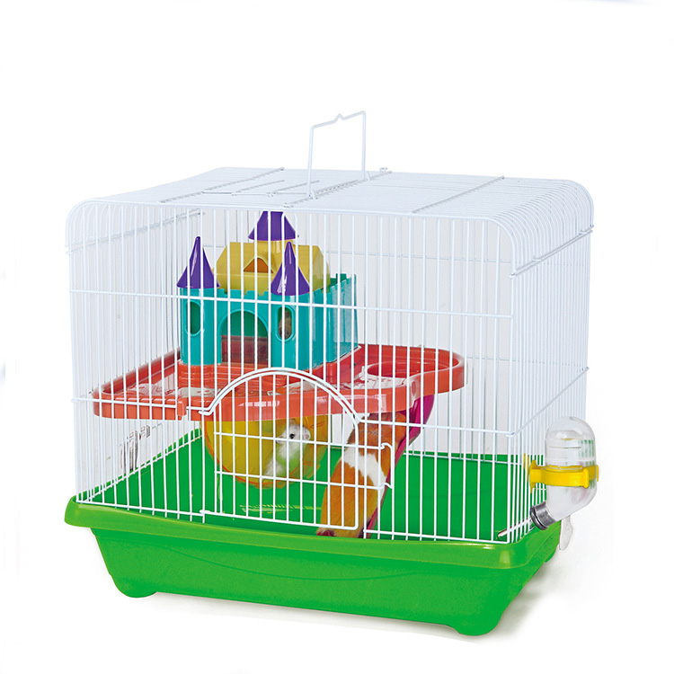 Special portable cage for traveling hamster cage