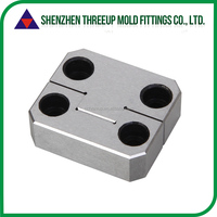 Plastic mold precision parts slide retainer for standard plastic die mould bush bearing