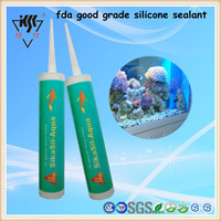 Acid Curing FDA Good Grade Glass Silicone Sealant With High Quality