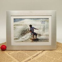 latest design of metal photo frame with surfing pictures for collection