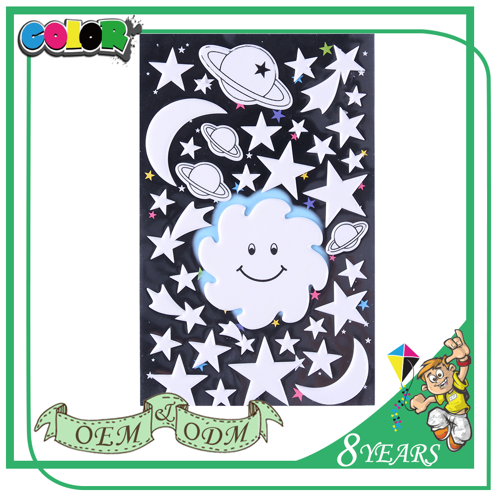 Top Sales High Quality Material Oem Designs Lovely Pet Print Tattoo Sticker Glow In The Dark For Kids
