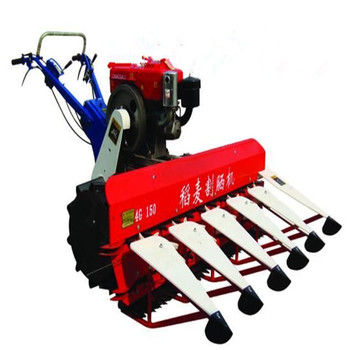 Small Farm Equipment wheat and rice combine cutting harvester machines