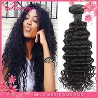 New products curl brazilian human hair wet and wavy weave