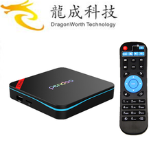 Pendoo X9 Pro S912 3G 32G android tv box with skype camera tiger receiver With the Best Quality Android 6.0 TV Box