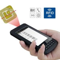 pda windows mobile CILICO Android rfid reader PDA with 3.8inch Screen tablet with barcode scanner