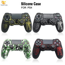 Antidust Custom Silicone Case Cover Gel Shell Game Accessories For Ps4 Controller Skin