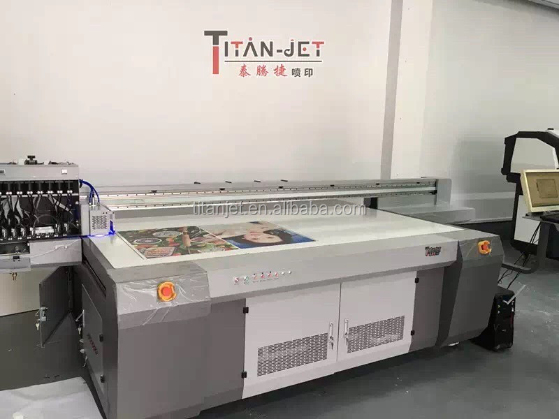 A0 flatbed glass UV printer, UV Flat bed Printer For Glass, wood, tiles, PVC etc. printing