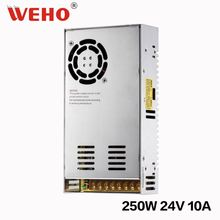 2 years warranty 250w 24v 10a switch power supply