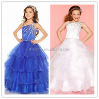 FG-127 2014 dress designs teenage girls dress cheap little girl pageant dresses