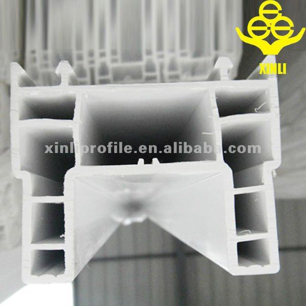 2.5mm thickness white hard pvc profiles for window and door