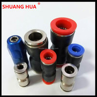 quick pneumatic plastic fitting/connector/coupling