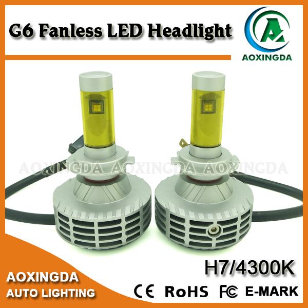 2015 the best selling LED headlight G6 H7