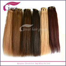 22inch Heavy 260g Hair Clip In Hair Extension With Cheap Price
