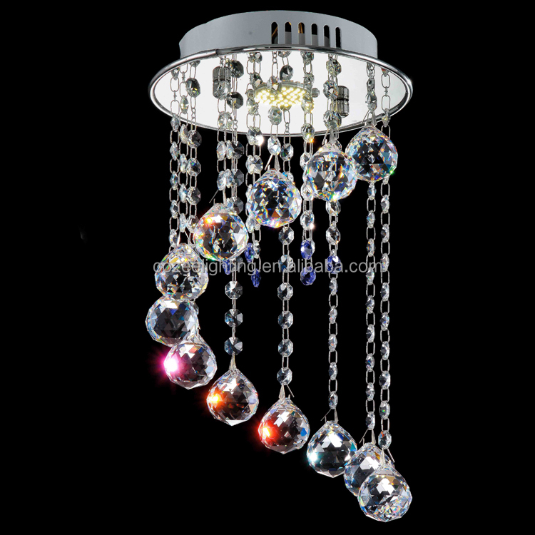Modern Art Deco Lighting Chandelier Crystal Ceiling Lamp CZ8175