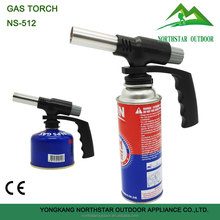 NS-512 new style big handle outdoor mini butane gas torch