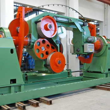 reliable alu copper 800mm double twisting machine