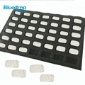 Oversized square bread puffs silicone baking molds forms tray