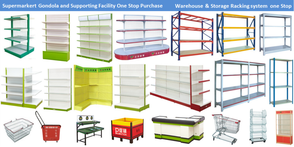 2016 new modern slanted store supermarket Snacks display shelf, View ...
