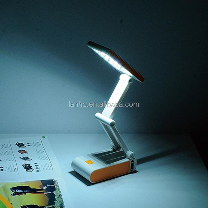 New Foldable and Adjustable Eyecare Built-in Rechargeable Battery Desk /Table Lamp+Free Adapter -