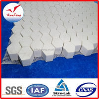 Alumina tiles/alumina bricks/ceramic wear liner for excellent abrasion resistant protection