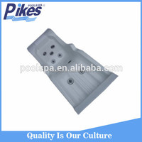 Acrylic swimming pool equipment/swimming pool bed for massage