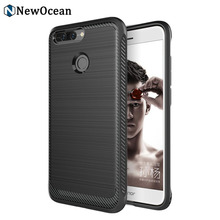 Best quality professional Rugged Armor Carbon fiber mobile case for HUAWEI Honor 8 Pro V9