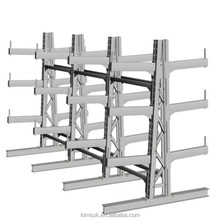 Heavy Duty Steel Steering Cantilever Rack For Warehouse