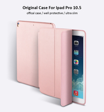 For ipad pro 10.5 , slim tablet light cover smart case for ipad pro 10.5