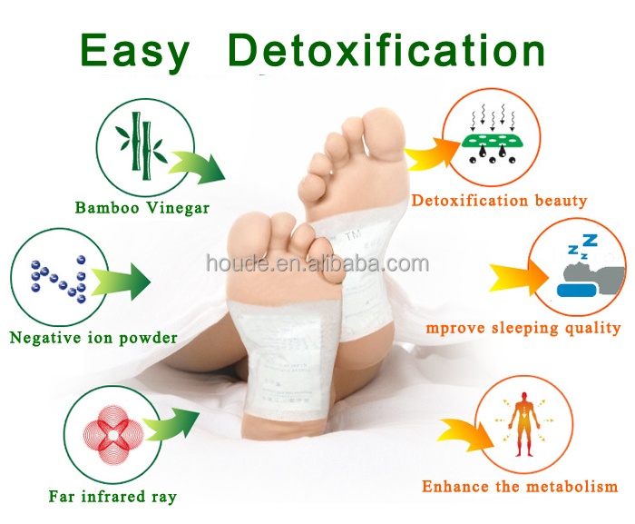 Chrismas Detox Foot Patch with ISO and FDA Approval