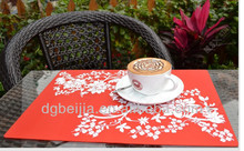 Waterproof Multicolor coffee table silicone placemat