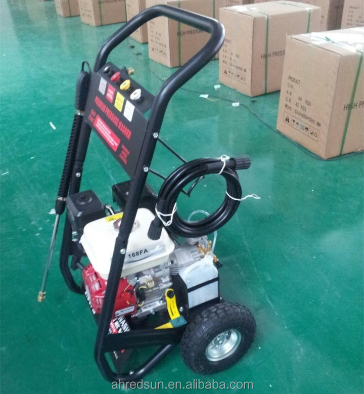 Car Service Equipment 2.65GPM Gasoline Cold Water High Pressure Washer