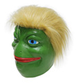 Hot selling meme trump latex frog comic mask