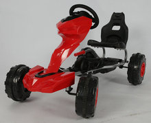 Ride on Toys Plastic Tyres Kids Car Racing Go Kart Pedal Car