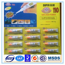 Quick bond super glue 110 in tubes for Africa