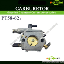 PARTYING PT58-62 CHAINSAW CARBURETOR 45cc 52cc 58cc 4500 5200 5800 gasoline chain saw chain chinese chainsaw