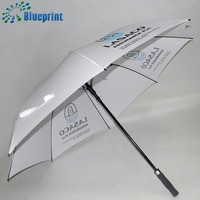 30 Inches 8 Ribs Strong Fiber Glass Windproof Automatic Golf Umbrella