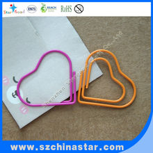 logo paper clip craft wire heart shape with photo wire clip