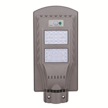 Integrated solar street light 20W 40W 60W solar led street light with pole for garden