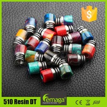 MOQ 100pcs DHL FREE SHIPPING Epoxy resin 510 drip tip #02